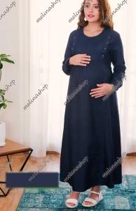 پیراهن جین کاغذی بارداری و شیردهی Code SA219