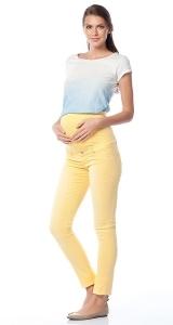 شلوار بارداری زرد Code TR151