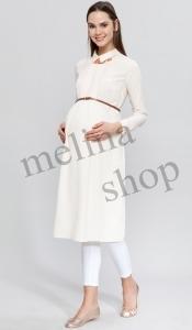 مانتو کمر دار بارداری Code SA142
